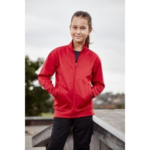 Kids' Hype Front Full Zip Jacket