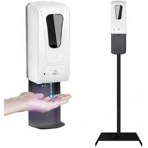 1000 Ml Touchless Automatic Hand Sanitizer Dispenser with Floor Stand