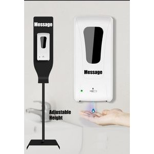 Floor Stand Hand Sanitizer Sensor Dispenser Set