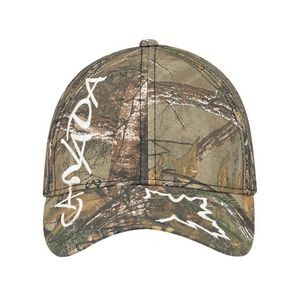 Full Fit Brushed Polycotton Realtree� Cap (Canada Logo)